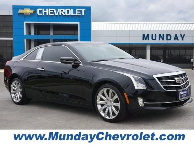 Pre Owned 2017 Cadillac Ats Coupe Premium Performance Rwd