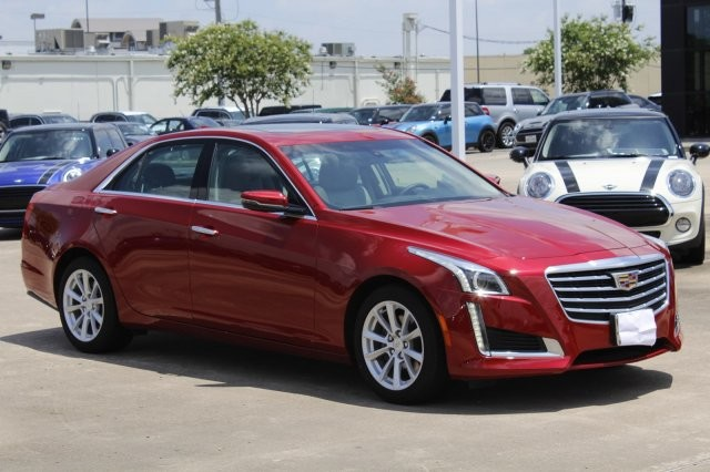 Pre-Owned 2019 Cadillac CTS Sedan RWD