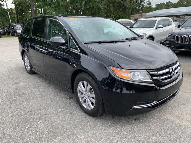 2017 Honda Odyssey Se >> Pre Owned 2017 Honda Odyssey Front Wheel Drive Se In League City