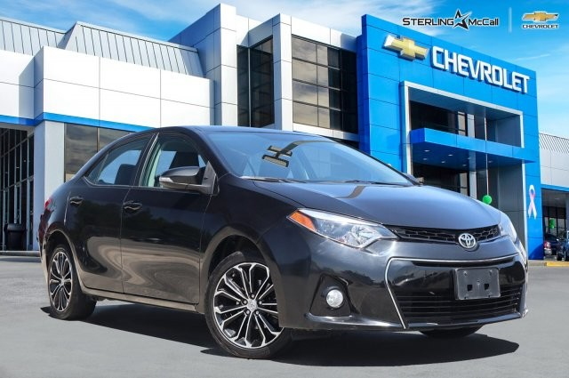 Toyota Corolla S Plus >> Pre Owned 2014 Toyota Corolla Front Wheel Drive S Plus In League