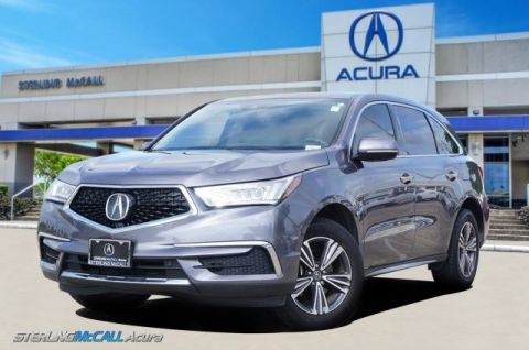 Pre-Owned 2017 Acura MDX 1-Owner, Heated Leather, Sunroof