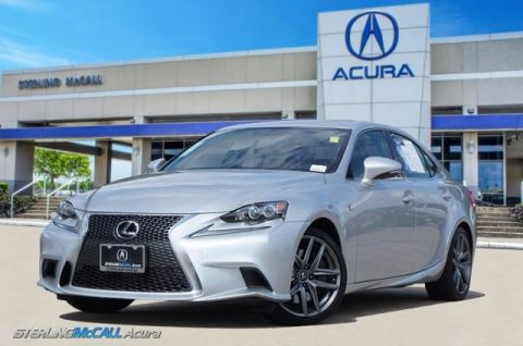 Pre-Owned 2016 Lexus IS 200t IS200 F SPORT NAVI SUNROOF HEATED COOLED LEATHER ONLY 14K MILES