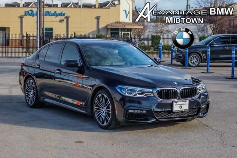 Pre-Owned 2017 BMW 5 Series 540i RWD MSPORT